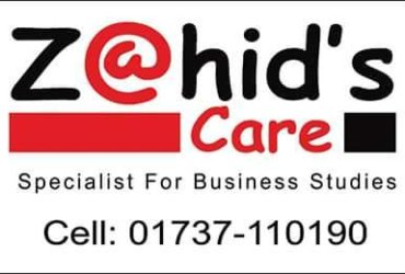 ZAHID's CARE « Specialist For Business Studies  »